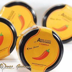 Crema de queso artesana con Queso Manchego & Guindilla